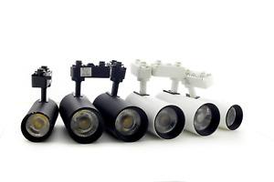 LED Track Light 15W/20W/30W Graceful Light White/Black Indoor Spotlight