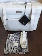 RARE Samsonite Alexander McQueen Black Label Boarding Bag - Ivory - NWT