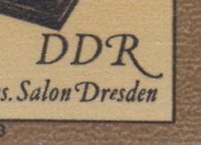DDR: ** Mi 2798. Abart I - im Block Feld 7 postfrisch ansehen MW 60,- (2P-97#2)