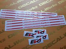 15 inch Regamaster Evo Desmond Rim Replacement Mags Decal Sticker Emblem