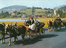 AK Festzug Jubelhochzeit in Goldegg, Salzburg  (C38)