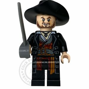 LEGO Genuine Hector Barbossa Minifigure Pirates The Caribbean From 4181 poc004