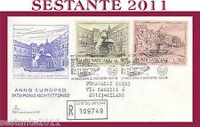 VATICANO FDC CAPITOLIUM V 92 1975 ANNO EUROPEO PATRIMONIO ARCHITETTONICO (451)