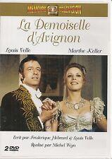 "2 DVD ""LA Dama de""AVIGNON"" Louis NUEVO, Marthe KELLER nuevo en blíster"
