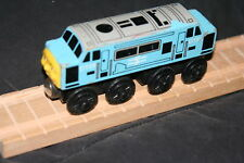 RARE ROUND TOP D199 Thomas TRAIN- Fits ALL WOODEN TRACK