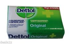 24 X 105g Dettol Anti Bacterial Bar Soap Original Formula USA SELLER FAS S&H