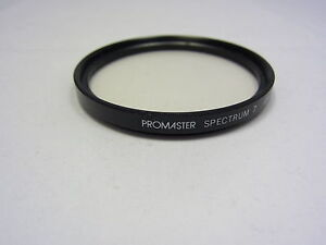 PROMASTER SPECTRUM 7 UV 62mm Lens Filter Made in Japan (w/ smudges scratches )