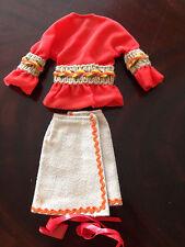 Vintage Barbie-Outfit 1972 * #3482 * Fashion Peasant Pleasant