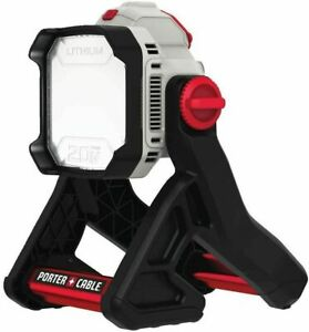PORTER-CABLE 20V MAX LED Work Light 1900 LUMENS Corded/Cordless (PCCL500B)