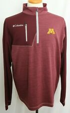 New University Of Minnesota Columbia Omni-Heat Embroidered Pullover Jacket Men L