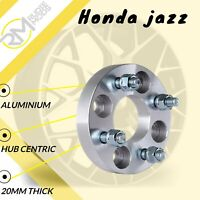 Honda Jazz 4x100 20mm Hubcentric Wheel Spacers 1 Pair
