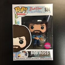 Funko POP Bob Ross Flocked Exclusive MINT BOX