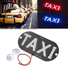 1pc Taxi LED Car Windscreen Cab Indicator Lamp Sign Windshield Taxi Light 12V