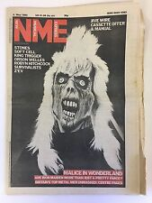 NEW MUSICAL EXPRESS NME MAGAZINE  8 MAY 1982  IRON MAIDEN   LS