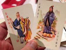 Estate Find- Hong Lou Meng Playing Cards- Great Graphics
