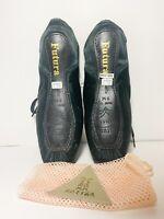 NEW Sansha Futura Pointe Shoes Black Size 9M W/ Shoe Bag