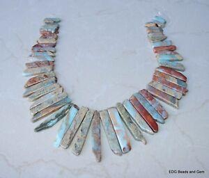 African Opal - Aqua Terra Jasper - Slice - Slab - Bead - Half Strand - 20 - 50mm