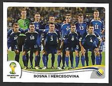 PANINI STICKER - FIFA - WORLD CUP 2014 - No 432 - TEAM - BOSNIA AND HERZEGOVINA