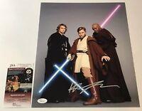Hayden Christensen Signed 11X14 Photo STAR WARS IN PERSON Autograph JSA COA