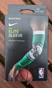 Nike Elite Sleeve L/XL Basketball Boston Celtics Dri-Fit