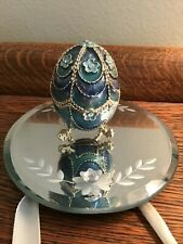 Monet elegant egg trinket