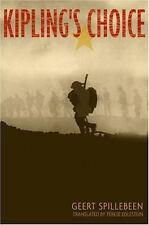 Kipling's Choice by Geert Spillebeen (2005, Hardcover) World War I Irish Guard