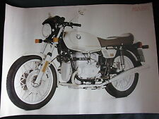 Poster BMW R65 (Folded)