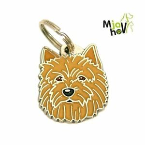 Dog ID Tag, Norwich terrier, Personalised, Engraved, Handmade, Charm
