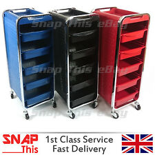 Salon Hairdresser Trolley Drawers Beauty Storage Hair Colouring Spa Roller Cart