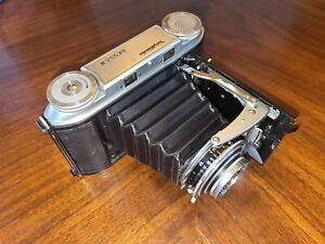 Voigtlander Bessa II Film Camera Color Skopar 105mm Lens 6x9 w/ Org Case