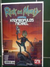 Rick and Morty Presents Krombopulus Michael Oni Press One Shot Regular Cover