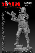 1/35 Scale Resin kit Post Apocalyptic Guard - zombie wars series