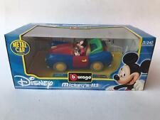 Burago BBurago Disney Mickey's 113 car Auto di Topolino 1/24 NEW
