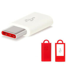 GENUINE ORIGINAL ONEPLUS ADAPTER MICRO-USB TO USB TYPE-C FOR ONE PLUS ONE & 2