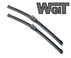 BMW X5 (incl E70) Wiper Blades Aero For SUV 2007-2011 FRT PAIR 2xBLS