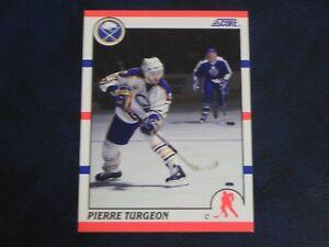 1990-91 90/91 Score #110 Pierre Turgeon Buffalo Sabres