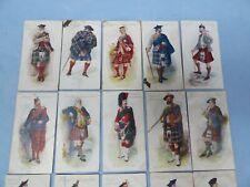 More details for vintage 20 john player & sons  cigarette cards highland clans cards circa 1907