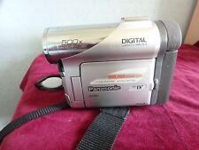 Panasonic NV-GS1 digital video cámara, Estéreo PCM, 500X Zoom Digital