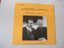 RUBINSTEIN  SZERYNG-BEETHOVEN BRAHMS-SONATAS-RCA LSC-2620-SHADED DOG-VINYL-NM-