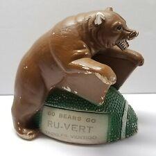 c1960's RU-VERT Tackles Vertigo Chalk Pharmacy Advertising Baylor Bears Football
