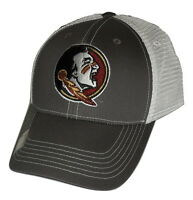 Florida State Seminoles FSU Adjustable Gray Mesh Snapback Cap NCAA Hat