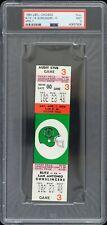 1984 Chicago Blitz vs San Antonio Gunslingers Full Ticket (PSA MINT 9 Slabbed)