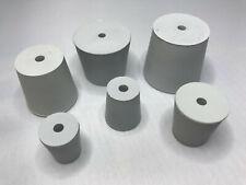 Gummistopfen grau Laborstopfen konisch Lebensmittelqualität mit Bohrung 5 mm