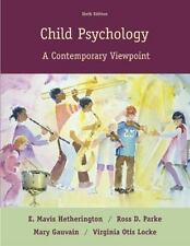 Child Psychology: A Contemporary Viewpoint-ExLibrary