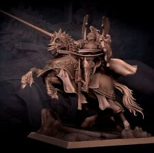 1/24 Resin Figure Model Kit horse Knight Soldat Warrior unpainted unassembled