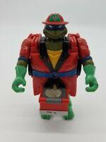 Vintage Teenage Mutant Ninja Turtles TMNT Leonardo Mutations Fire Truck 1993