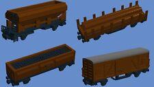 Construiste PDF receta para vagones de lego ® piedras-Ferrocarril