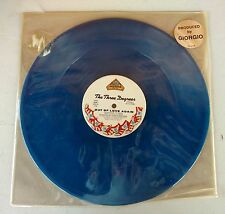 The Three Degrees The Runner/Out of Love Again Blue Vinyl LP Record Album