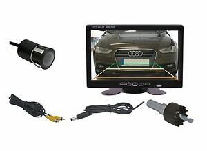 """18 MM Built-In & 7 """" Monitor Fits for Honda Vehicle Etc"""
