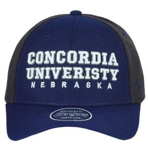 NCAA Zephyr Concordia University Nebraska Bulldogs Adjustable Structure Hat Cap